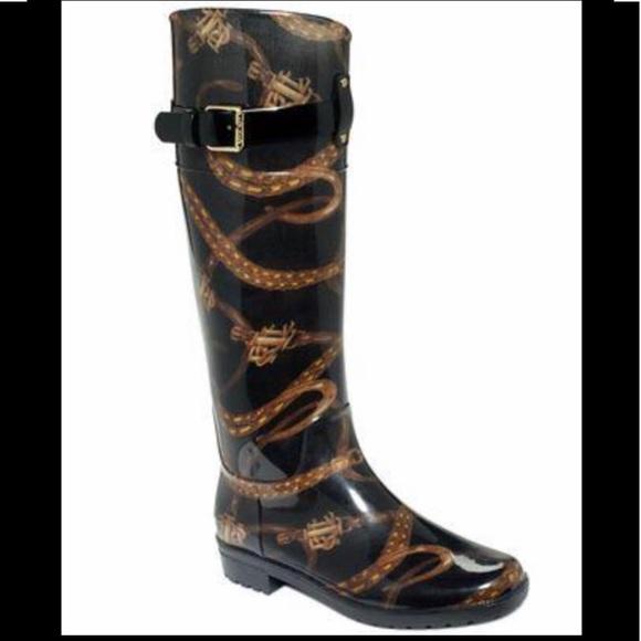 Ralph Lauren Rossalyn Tall Rain Boots